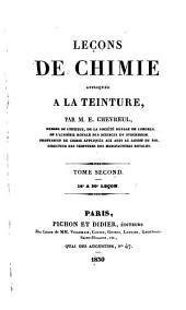 Leçons de chimie appliquée à la teinture: Volume2