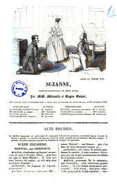 Suzanne comedie-vaudeville en deux actes par MM. Melesville et Eugene Guinot