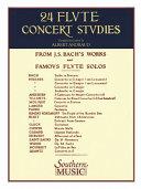 24 Flute Concert Studies