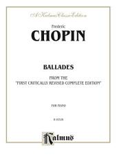 Ballades: For Advanced Piano