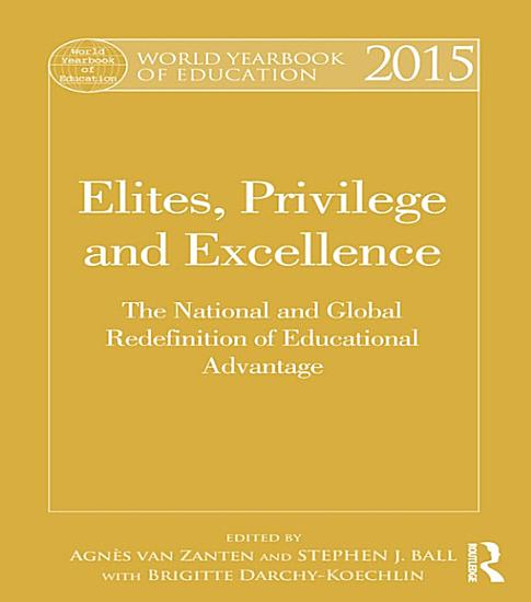 World Yearbook of Education 2015 PDF