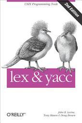 lex & yacc: Edition 2