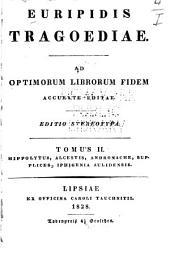 Euripidis Tragoediae: Volume 2