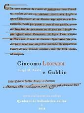 Giacomo Leopardi e Gubbio