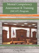 Mental Competency Assessment and Training  MCAT  Program PDF