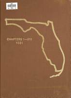 Official Florida Statutes  1981 PDF