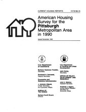 Current Housing Reports: American housing survey for the Pittsburgh metropolitan area in .... Series H-170