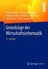 Grundzüge der Wirtschaftsinformatik: Ausgabe 12