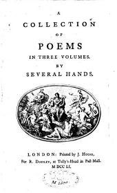 Collection of Poems: In Three Volumes, Volume 1