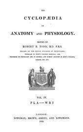 The Cyclopædia of Anatomy and Physiology: Volume 4, Issue 1