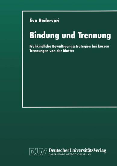 Bindung und Trennung PDF