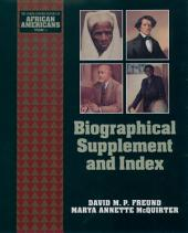 Biographical Supplement and Index