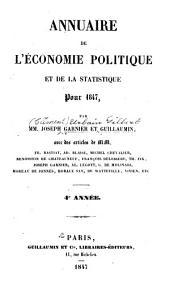Annuaire de l'économie politique et de la statistique: Volume4