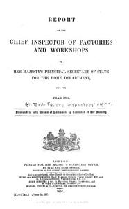 Factories and Workshops PDF