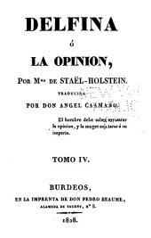 Delfina; ó, La opinion: Volumen 4