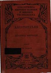 Politeia Athenaion: Tertium edidit Fridericus Blass