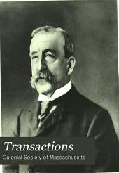 Transactions: Volume 13