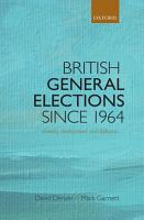 British General Elections Since 1964 PDF