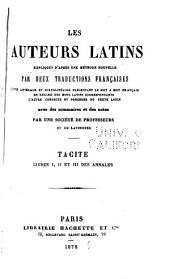 Tacite ... annales: Volume1