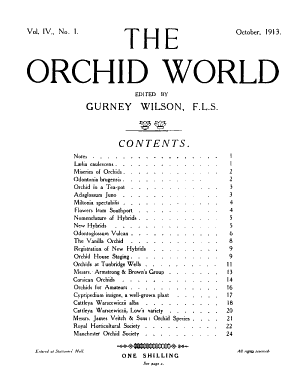 The Orchid World PDF