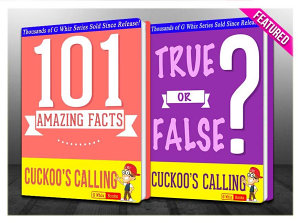 The Cuckoo s Calling   101 Amazing Facts   True or False