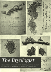 The Bryologist: Volumes 17-19