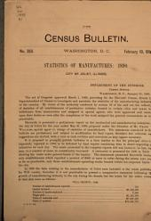 Census Bulletin: Issue 353