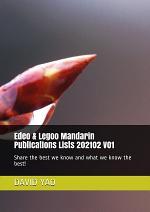 Edeo & Legoo Mandarin Publications Lists 202102 V01