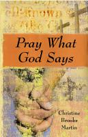 Pray What God Says PDF