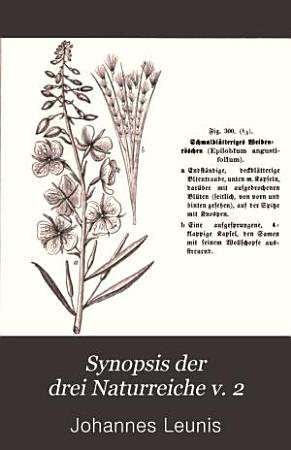 Synopsis der drei Naturreiche v  2 pt  2  1885 PDF
