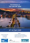 Proceedings of The 14th IAC 2019