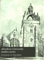 Roll of Alumni in Arts of the University and King's College of Aberdeen: 1596-1860