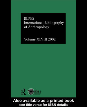 IBSS  Anthropology  2002