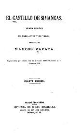 El castillo de Simancas: drama heróico en tres actos y en verso