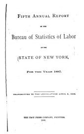 Annual Report of the Bureau of Labor Statistics of the State of New York for the Year ...: Volume 5