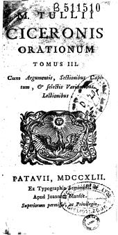 M. Tulli ciceronis opera omnia