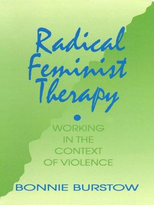 Radical Feminist Therapy PDF