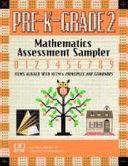 Mathematics Assessment Sampler, Prekindergarten-grade 2