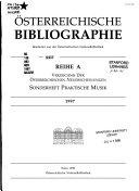 sterreichische Bibliographie PDF