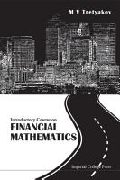Introductory Course on Financial Mathematics PDF