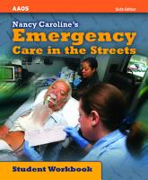 Nancy Caroline s Emergency Care in the Streets  Student Workbook PDF