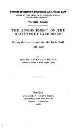 Columbia University Studies in the Social Sciences