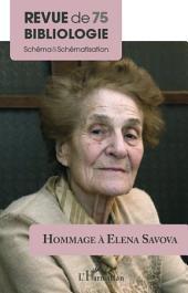 Hommage à Elena Savova