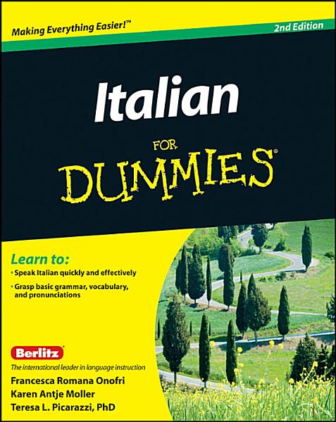 Download Italian For Dummies Book