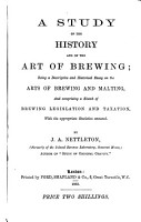 A study of the history and of the art of brewing PDF