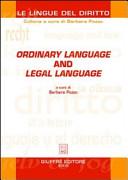 Ordinary language and legal language PDF