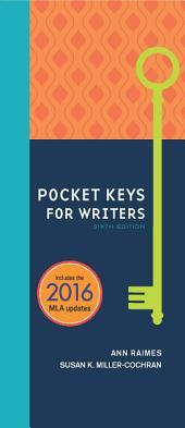 Pocket Keys for Writers, Spiral bound Version: Edition 6