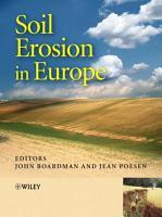 Soil Erosion in Europe PDF