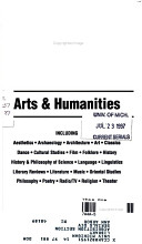 Current Contents  Arts   Humanities PDF