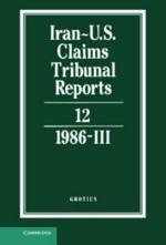 Iran-U.S. Claims Tribunal Reports: Volume 12